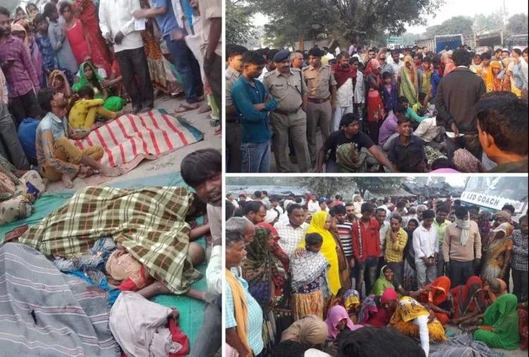 Seven Died In Road Accident In Bulandshahr