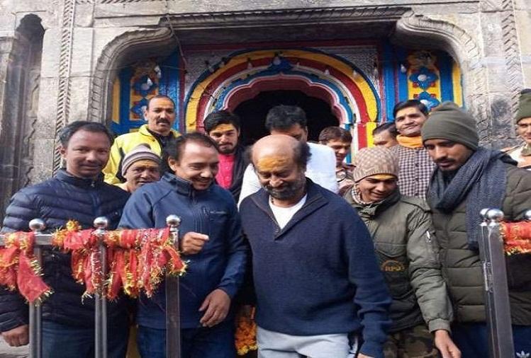 Rajinikanth visited Baba Kedarnath