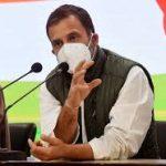 कांग्रेस नेता राहुल गांधी ने कोरोना महामारी को लेकर पार्टी की ओर से एक श्वेत पत्र किया जारी